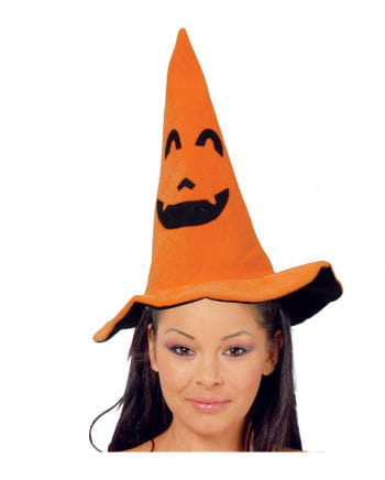 Pumpkin witches hat