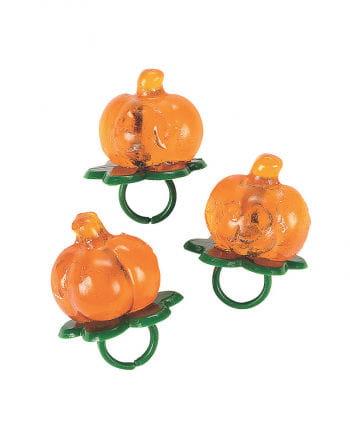 Pumpkin Lollipop On The Ring