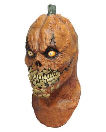 Devil pumpkin head mask