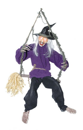 Laughing Witch on a Swing
