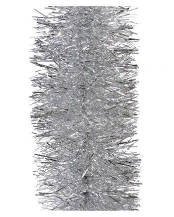 Lametta-Girlande - Silber 2,7m