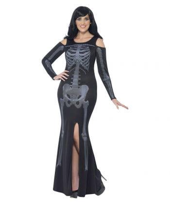 Langes Skelett Kleid