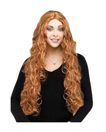 Longhair Witch Wig brown
