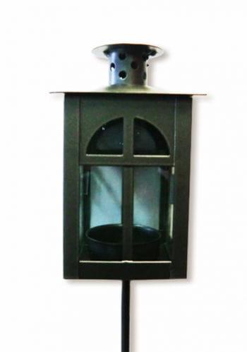 Lantern made of metal