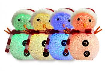 LED Schneemann mit RGB Farbverlauf