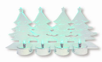 LED Tannenbaum 4-er Set