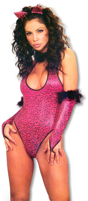 Pussycat Costume Set Xtra Large