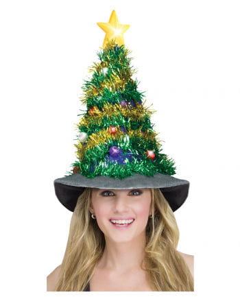 Leuchtender Christbaumhut