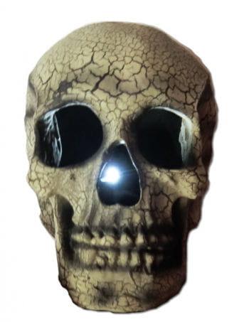 Leuchtender Totenkopf Beige