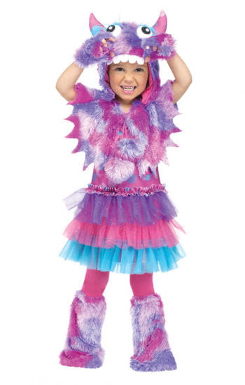 Purple Kuschelmonster Toddlers Costume