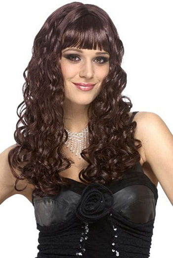 Curly Wig Bella Brown