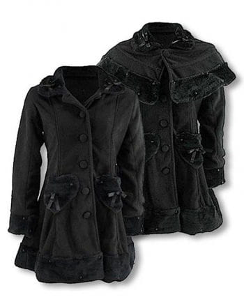 Lolita and Gothic Fleece Coat S