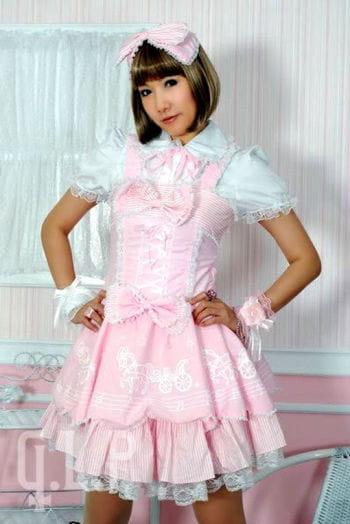 Lolitakleid rosa