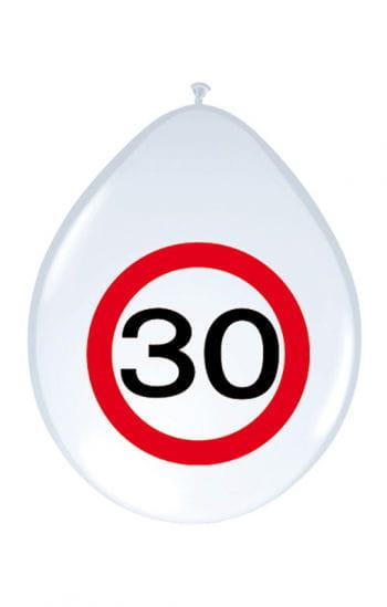 Air Balloon Road Sign 30