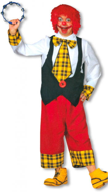 Funny Circus Clown Costume