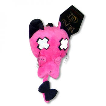 Luv Kitty Keychain Pink