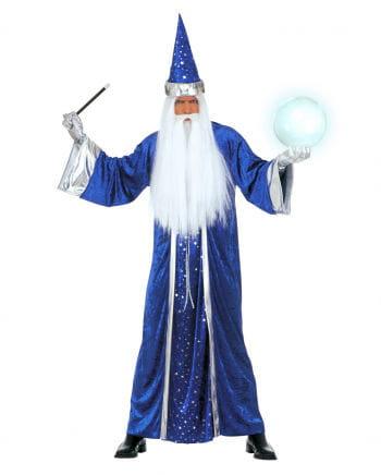 Magician Costume Blue XL