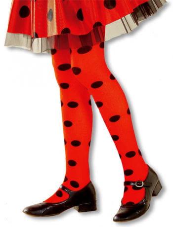 Ladybug Child Pantyhose M