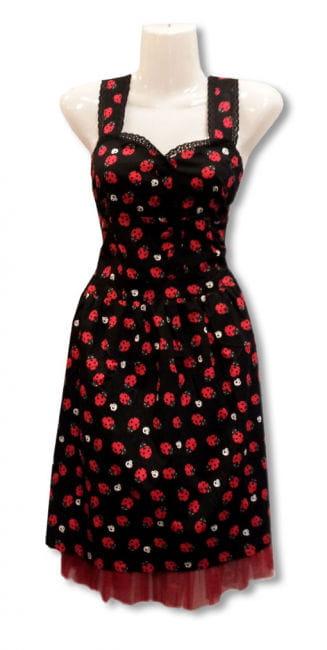 Marienkäfer Kleid