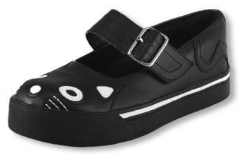 Mary Jane Sneaker Kitty schwarz