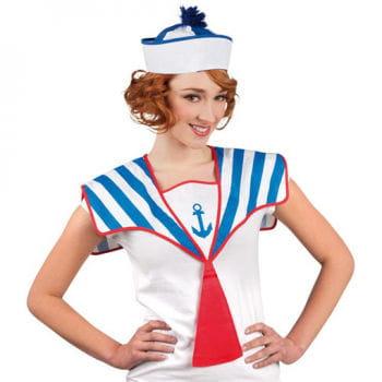 Sailor collar blue / white