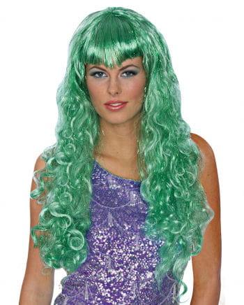 Mermaid Wig Green