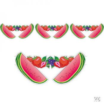 Melonen Girlande