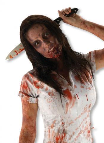 "Knife Through Head ""The Walking Dead"""