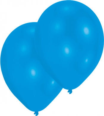 Metallic blau Luftballons 50 St.