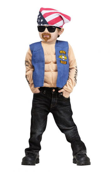 Mini Biker Child Costume