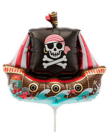 Mini-Folienballon Piratenschiff