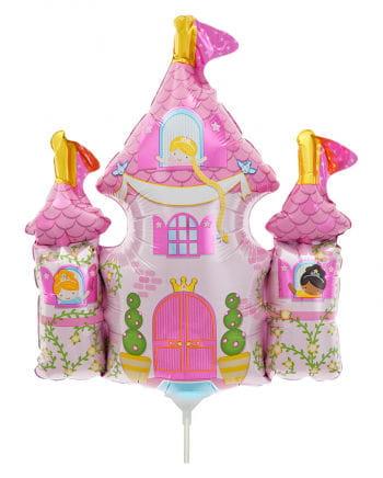 Mini-Folienballon Prinzessinnenschloss