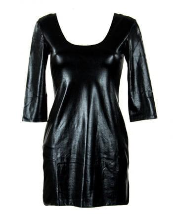 Mini dress in leather look Gr.M