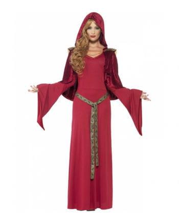 Mittelalter Priesterin Kostüm mit Kapuze