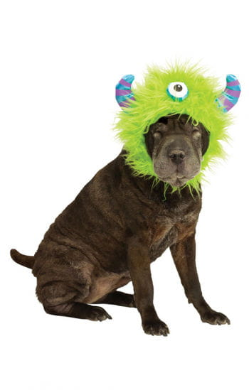 Dogs Monster Hat Green
