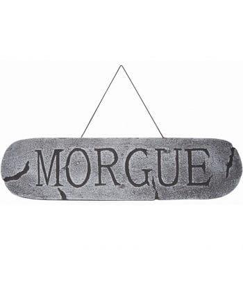 Morgue Sign