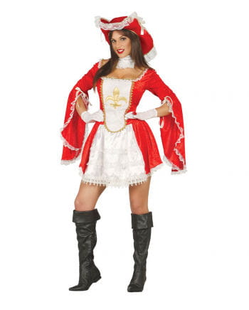 Musketeer Lady Red