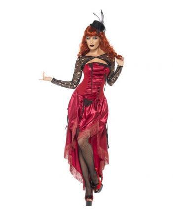 Mysteriöses Saloon Girl Kostüm