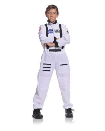 NASA Astronaut Child Costume white