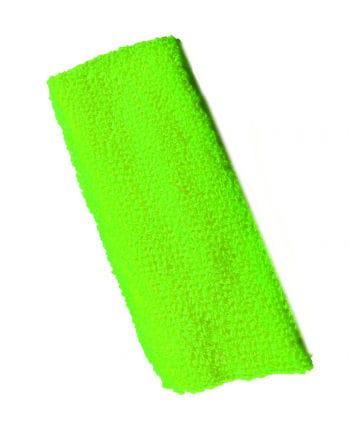 Neon Stirnband Grün