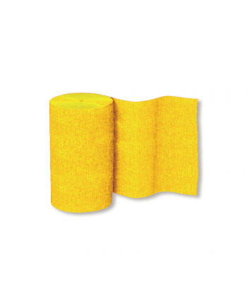Niflamo Deko Krepp gelb 10er Pack