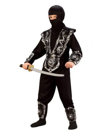 Ninja Kämpfer Child Costume - M 128-146 M German size 128-146