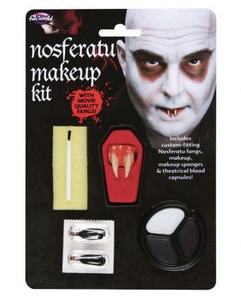 Nosferatu Make Up Kit & Eckzähne