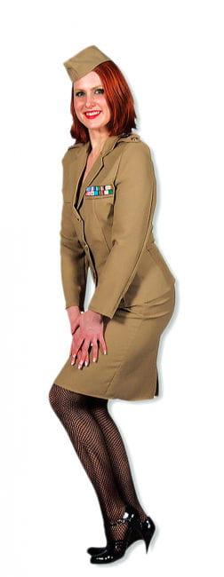 Offizier-Dame Premium Kostüm