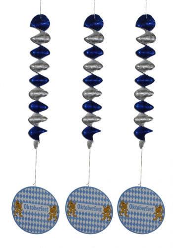 Oktoberfest Deckenspirale 3er Set