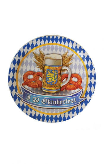 Oktoberfest Papp Teller