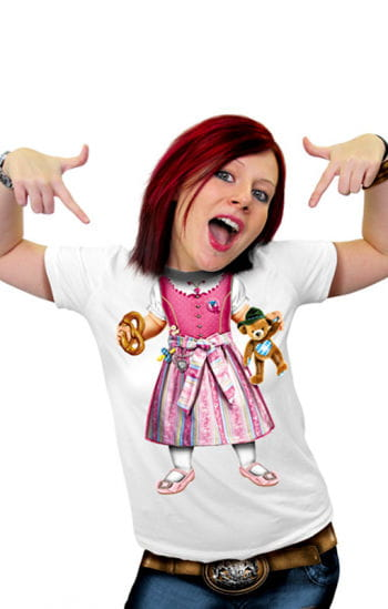 T-shirt Babydirndl
