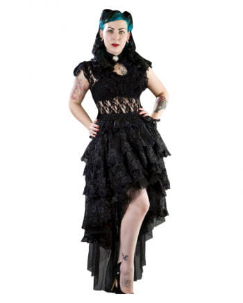 Burleska black lace skirt Ophelie
