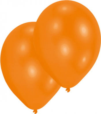 Orange Luftballons 50 St.