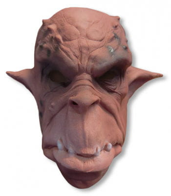 Ork Mask Foam Latex Red/Brown